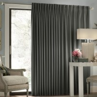 Darby Home Co Ashville Patio Door Blackout Single Curtain ...