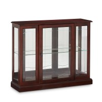 Darby Home Co Purvoche Console Curio Cabinet & Reviews ...