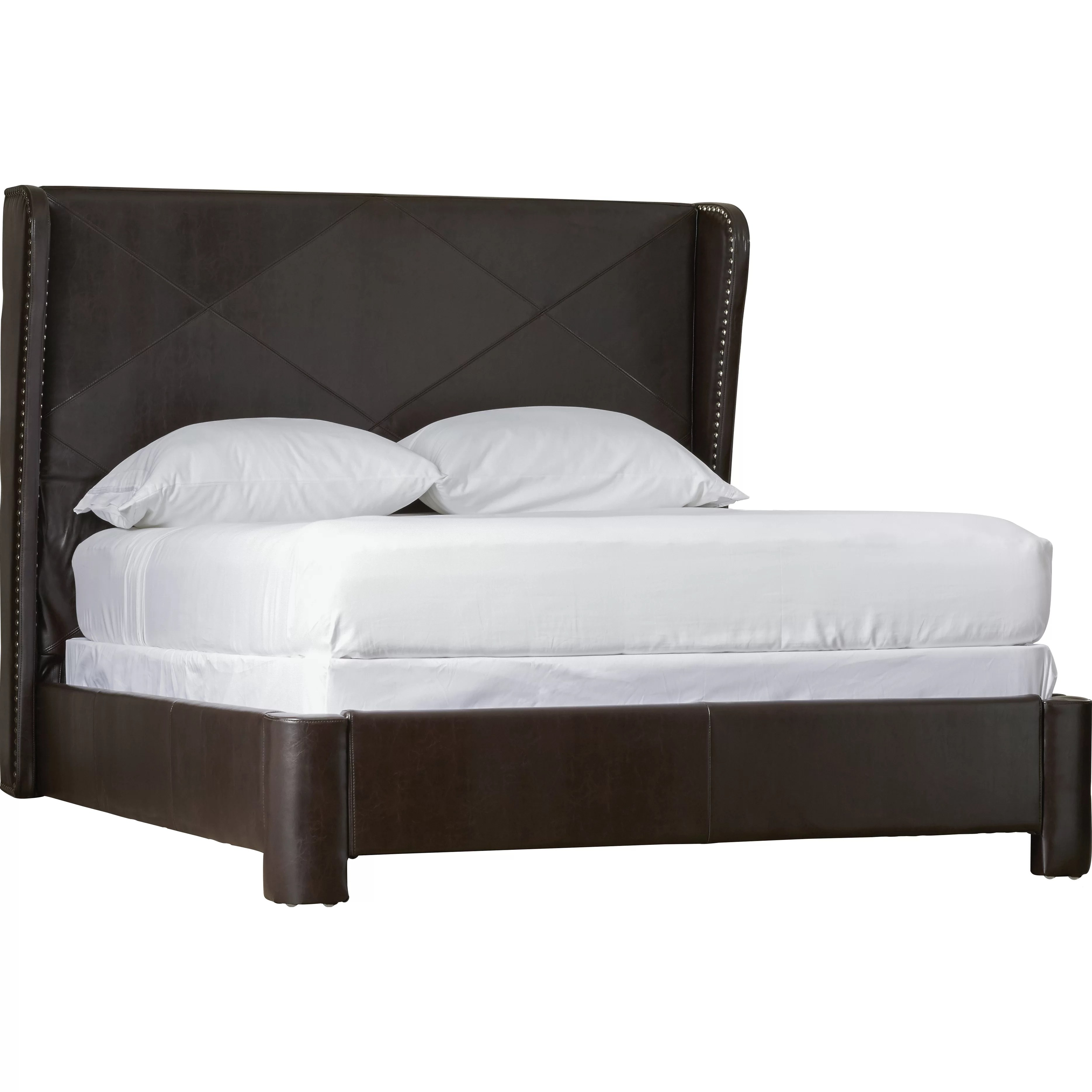 What Is A Panel Bed Alcott Hill King Upholstered Panel Bed And Reviews Wayfair
