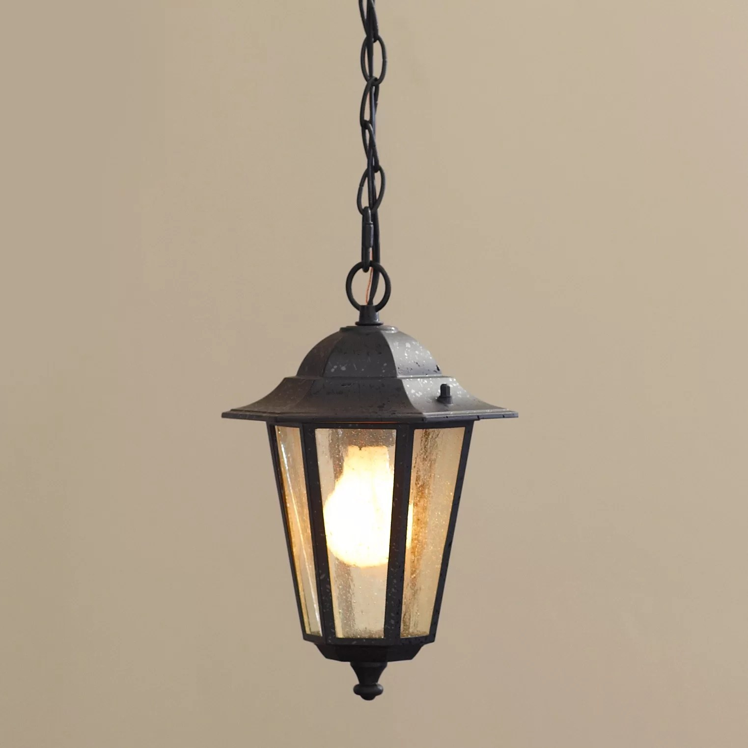 Outdoor Hanging Lanterns Alcott Hill Mayer 1 Light Outdoor Hanging Lantern