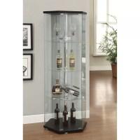 Varick Gallery Castillo Curio Cabinet & Reviews | Wayfair