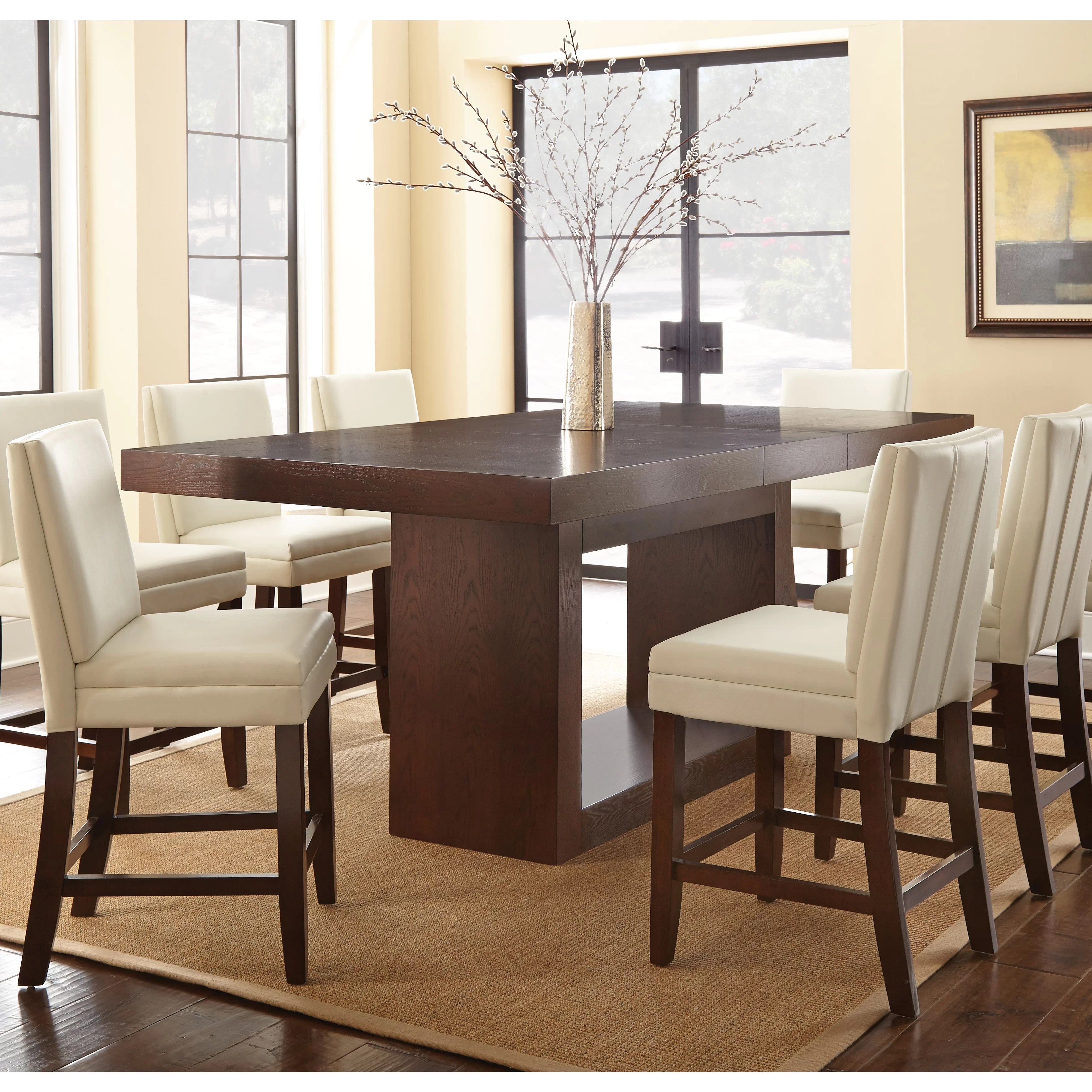 counter height dining kitchen tables c a~ counter height kitchen tables Antonio Counter Height Dining Table