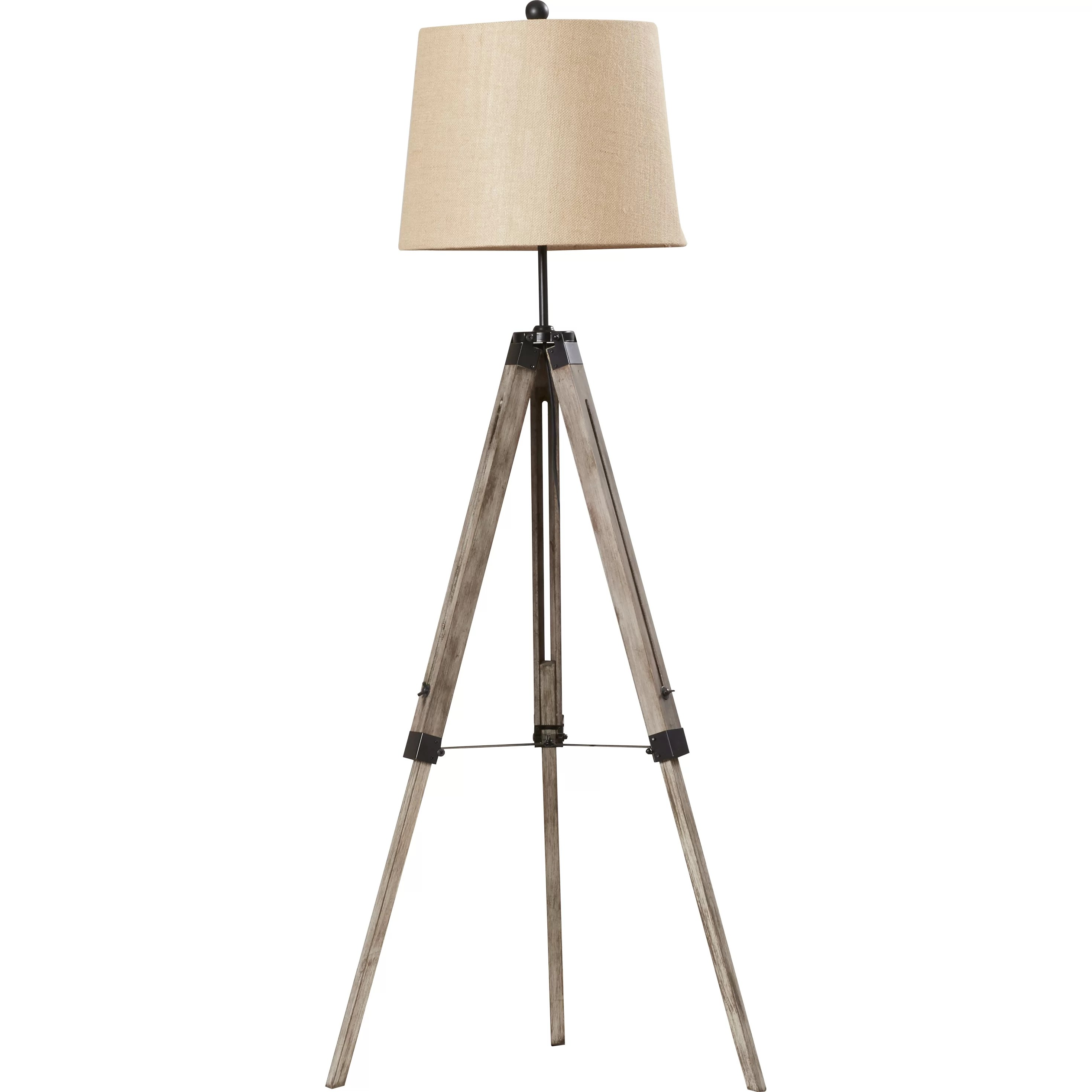 Tripod Floor Lamps Sale Brayden Studio Seaborn 63 Quot Tripod Floor Lamp And Reviews
