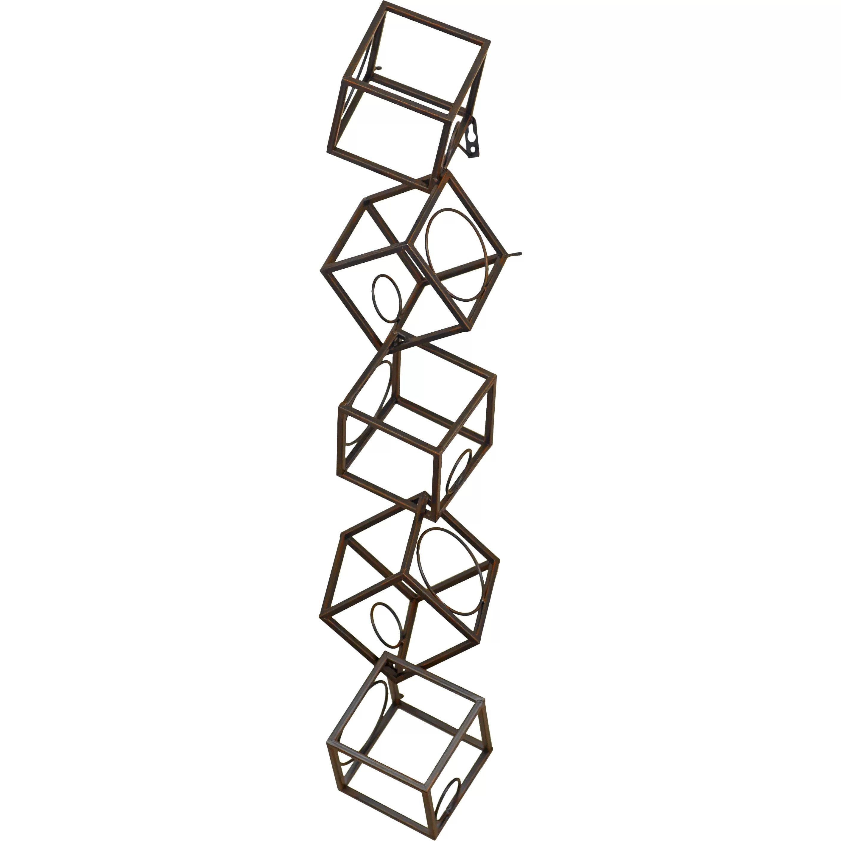 Hanging Bottle Rack Brayden Studio Sikorski 5 Bottle Hanging Wine Rack
