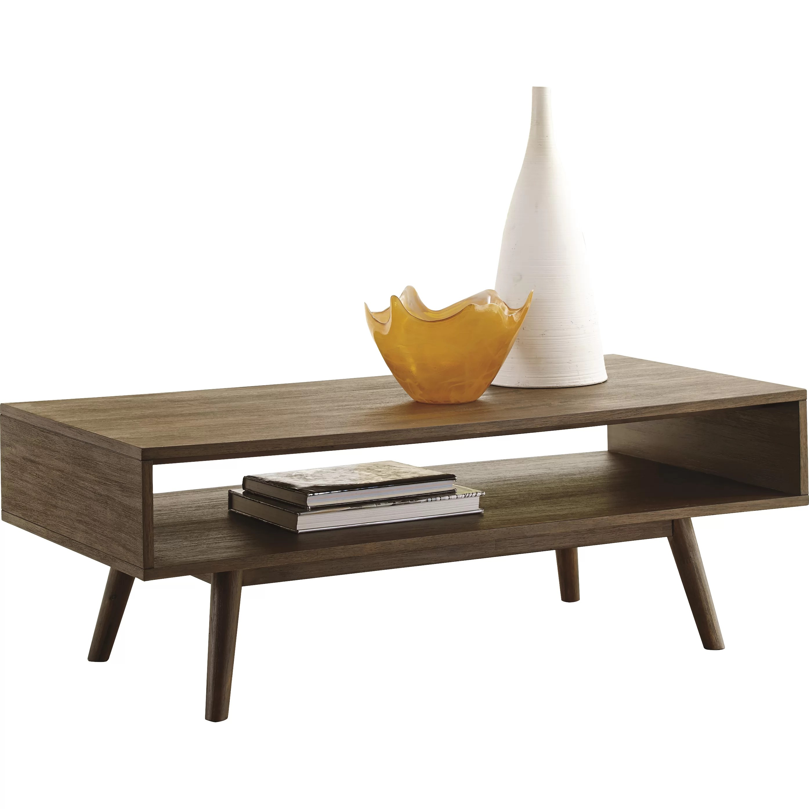 Modern Black And White Coffee Table Brayden Studio Holliday Coffee Table And Reviews Wayfair