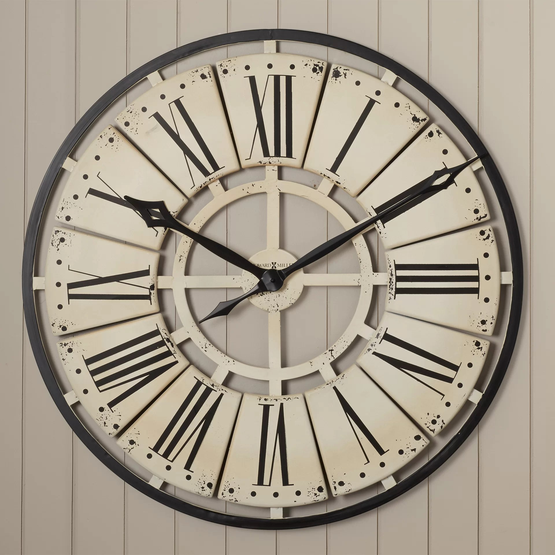 Wall Clock Melbourne Howard Miller Large Wall Clock Bestsciaticatreatments