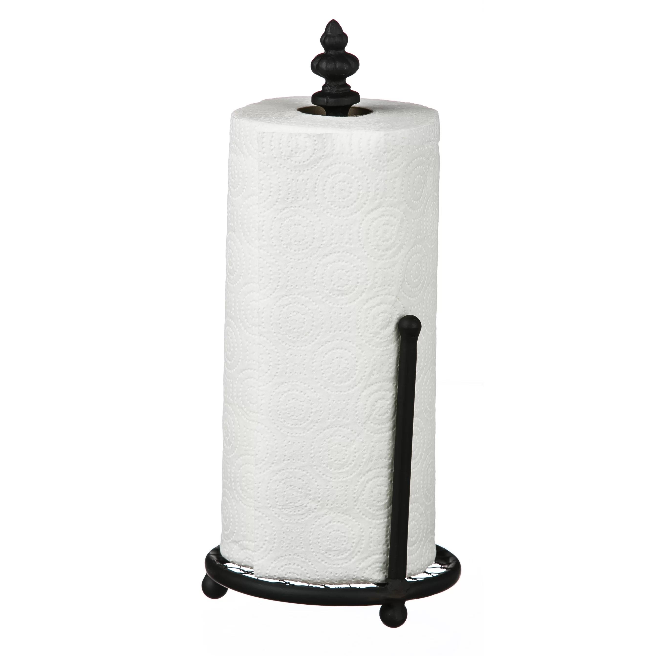 August Grove Metal Paper Towel Holder & Reviews