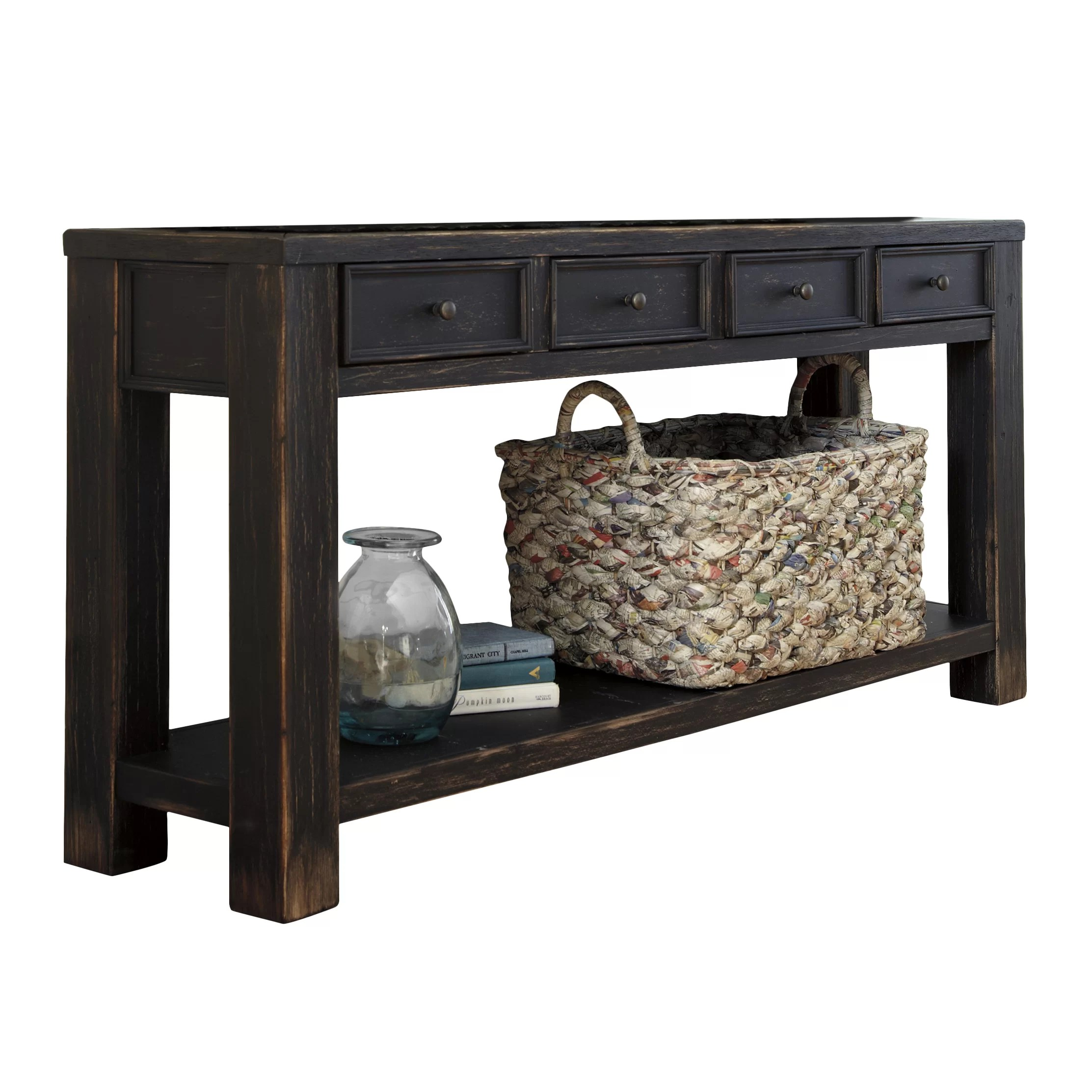 Slim Couch Table Beachcrest Home Calvin Console Table And Reviews Wayfair