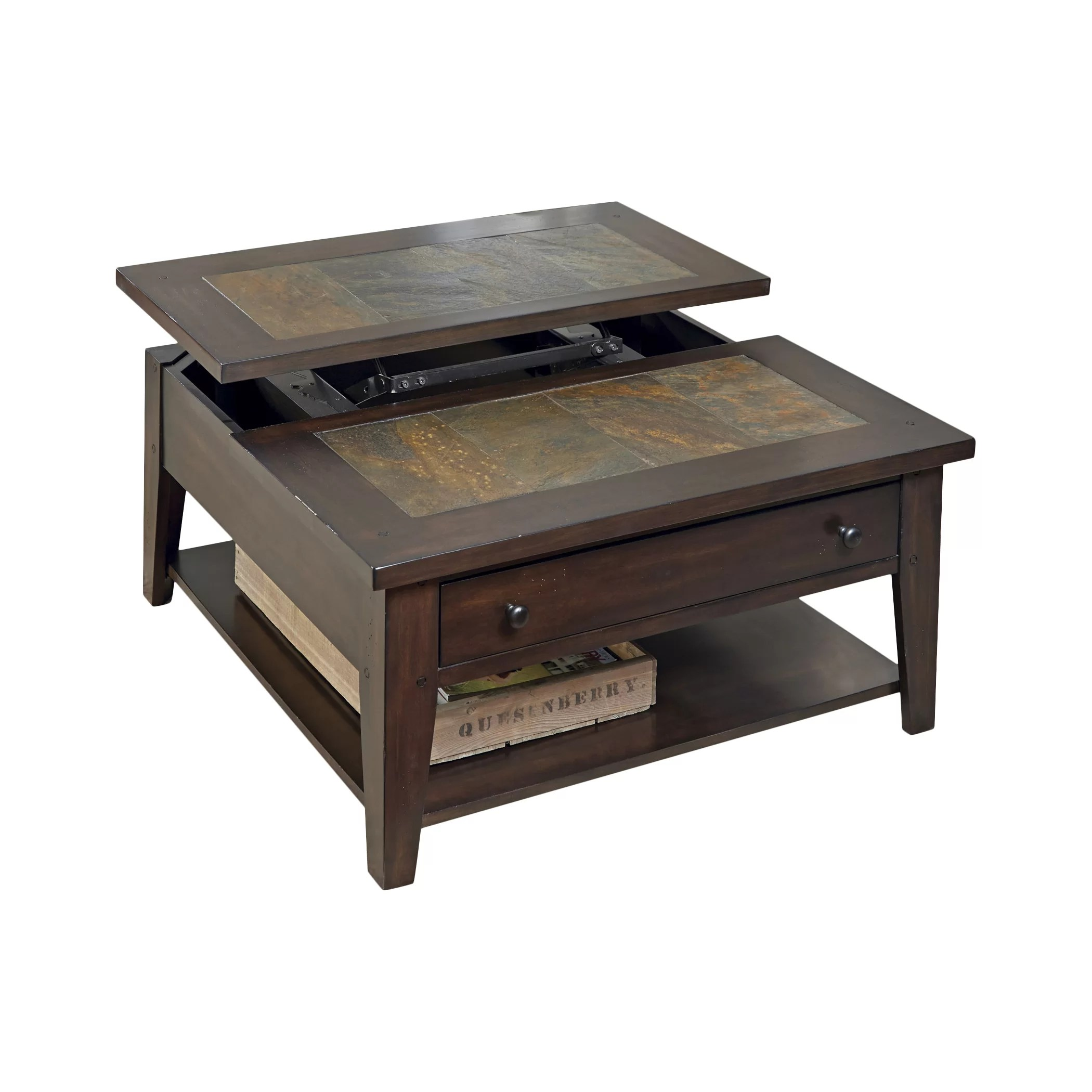 Top Lift Coffee Table Loon Peak Leadville North Coffee Table With Lift Top