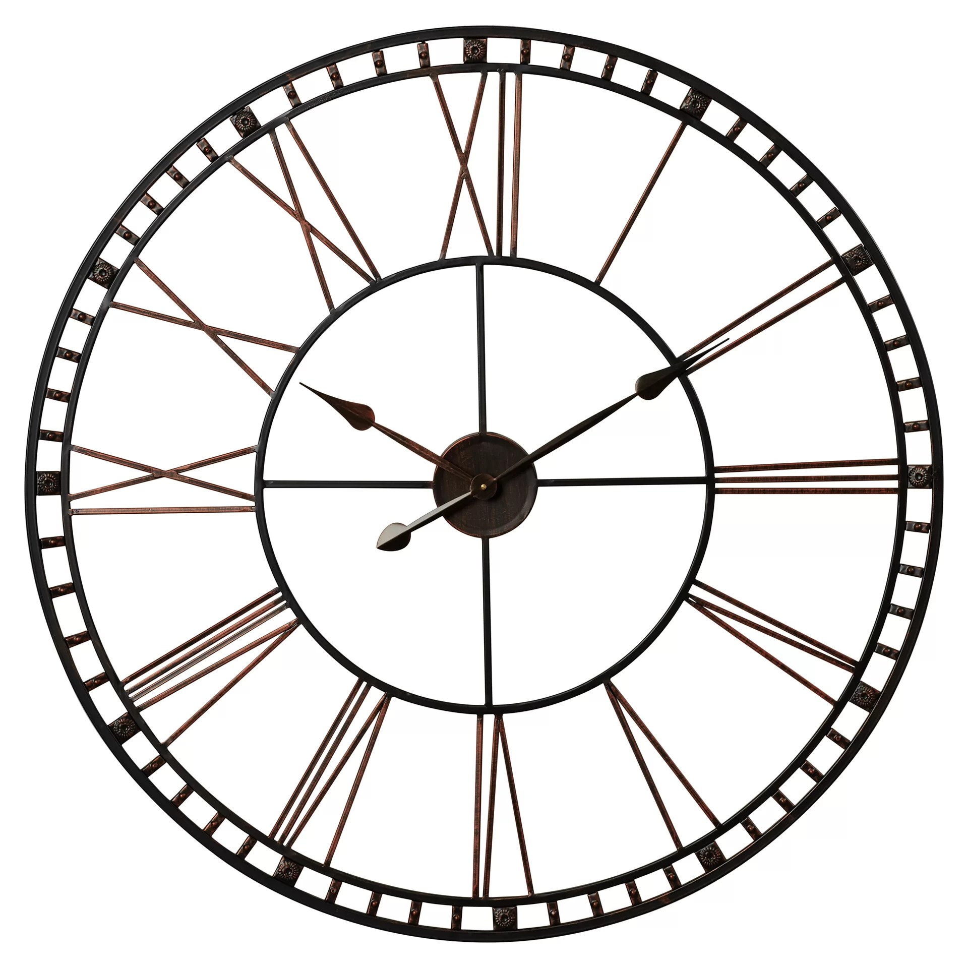 Wall Art Clocks Trent Austin Design Methuen Oversized 39 Quot Xxl Wall Clock