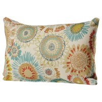 Bungalow Rose Bangor Aqua Lumbar Pillow & Reviews | Wayfair.ca