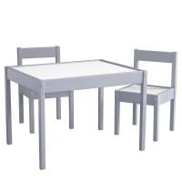 Viv + Rae Miriam 3 Piece Rectangular Table and Chair Set ...