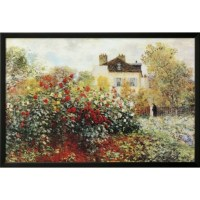 Buy Art For Less 'The Garden Poster' by Claude Monet ...