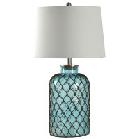 "Breakwater Bay Belvidere Nautical Net 30"" Table Lamp"