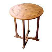 "Breakwater Bay Sabbattus 36"" Bar Height Patio Table   Wayfair"
