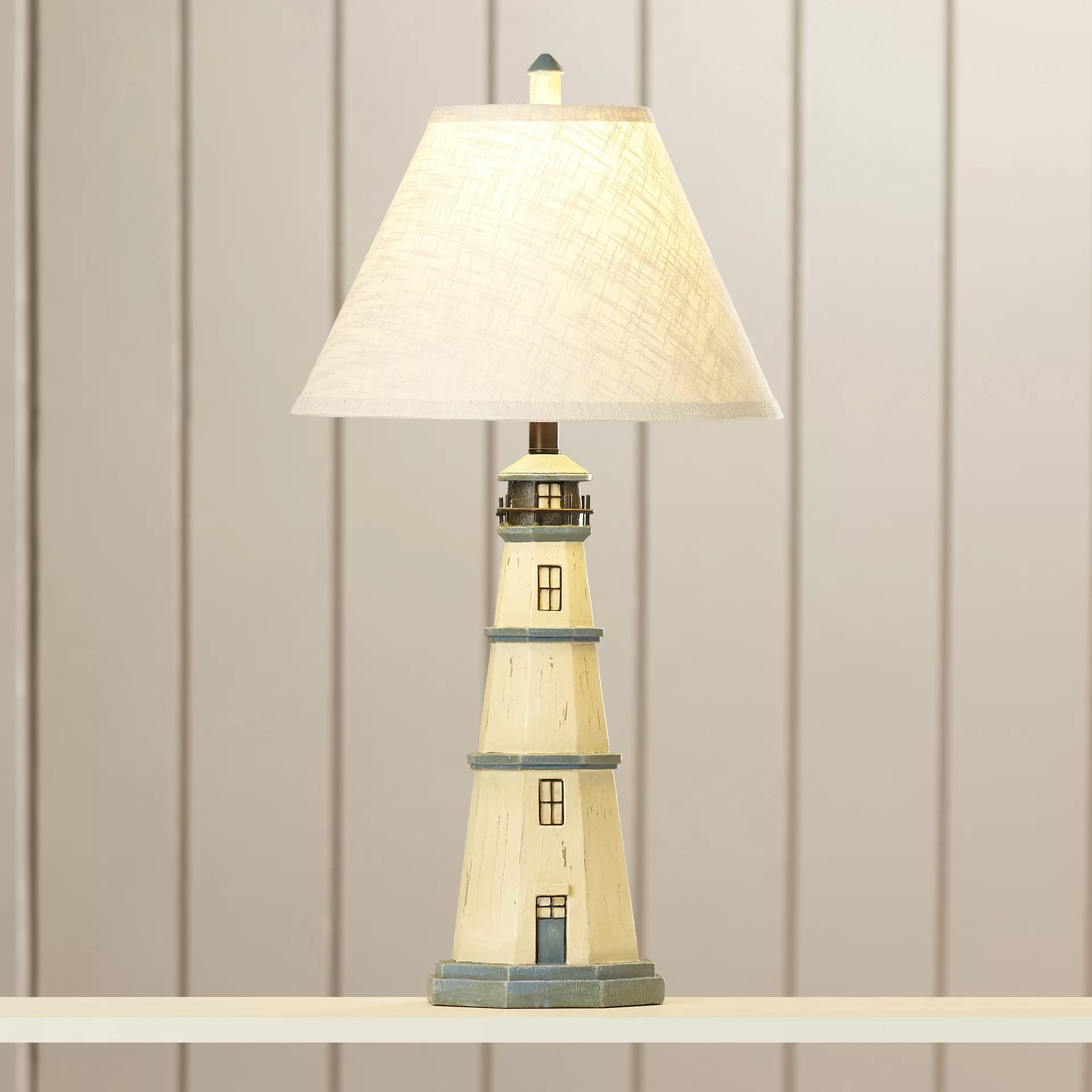 House Table Lamp Breakwater Bay Ocean Village Light House 31 75 Quot Table Lamp