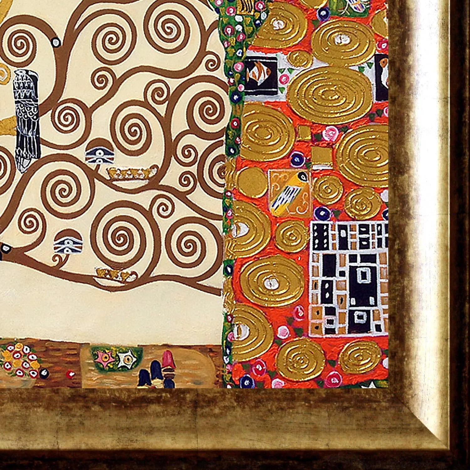Klimt Fregio Stoclet La Pastiche 39the Tree Of Life Stoclet Frieze 39 By Gustav