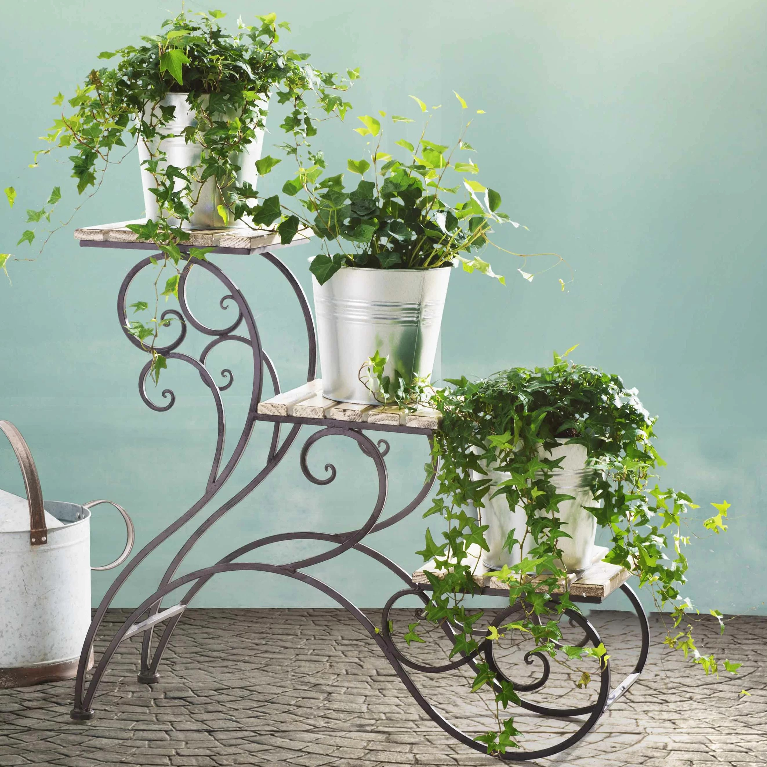 Tiered Plant Holders Rosalind Wheeler Elderberry Multi Tiered Plant Stand