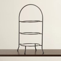 Symple Stuff 3 Tier Dinner Plate Rack Tiered Stand ...