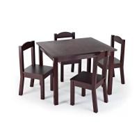 Zoomie Kids Samira Kids 5 Piece Table and Chair Set ...