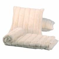 BOON Throw & Blanket Luxury Rabbit Faux Fur Throw and ...