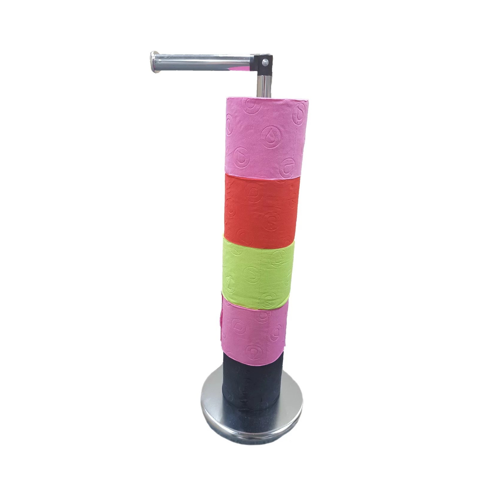 Evideco Freestanding Toilet Paper Holder & Reviews