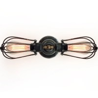 Westmen Lights 2 Light Double Arms Squirrel Cage