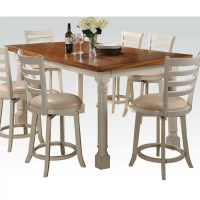 Hokku Designs Nappa 7 Piece Counter Height Dining Set amp ...
