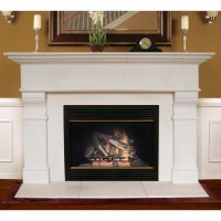 Americast Architectural Stone Roosevelt Fireplace Mantel ...