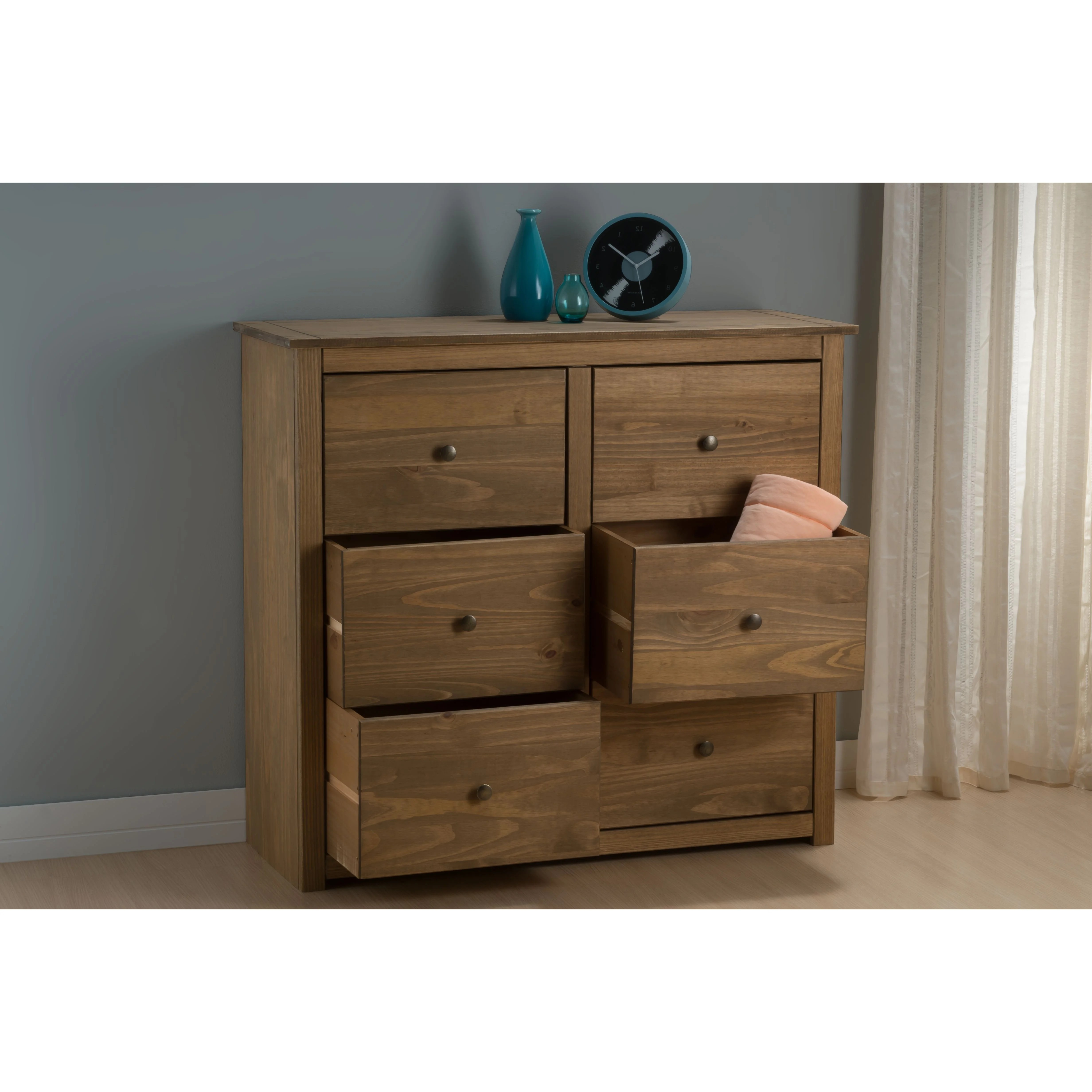 Home Loft Concept Home Loft Concept Sascha 6 Drawers Chest Of Drawers
