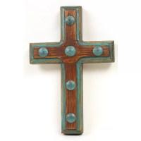 MyAmigosImports Santa Fe Rustic Cross Wall Decor | Wayfair