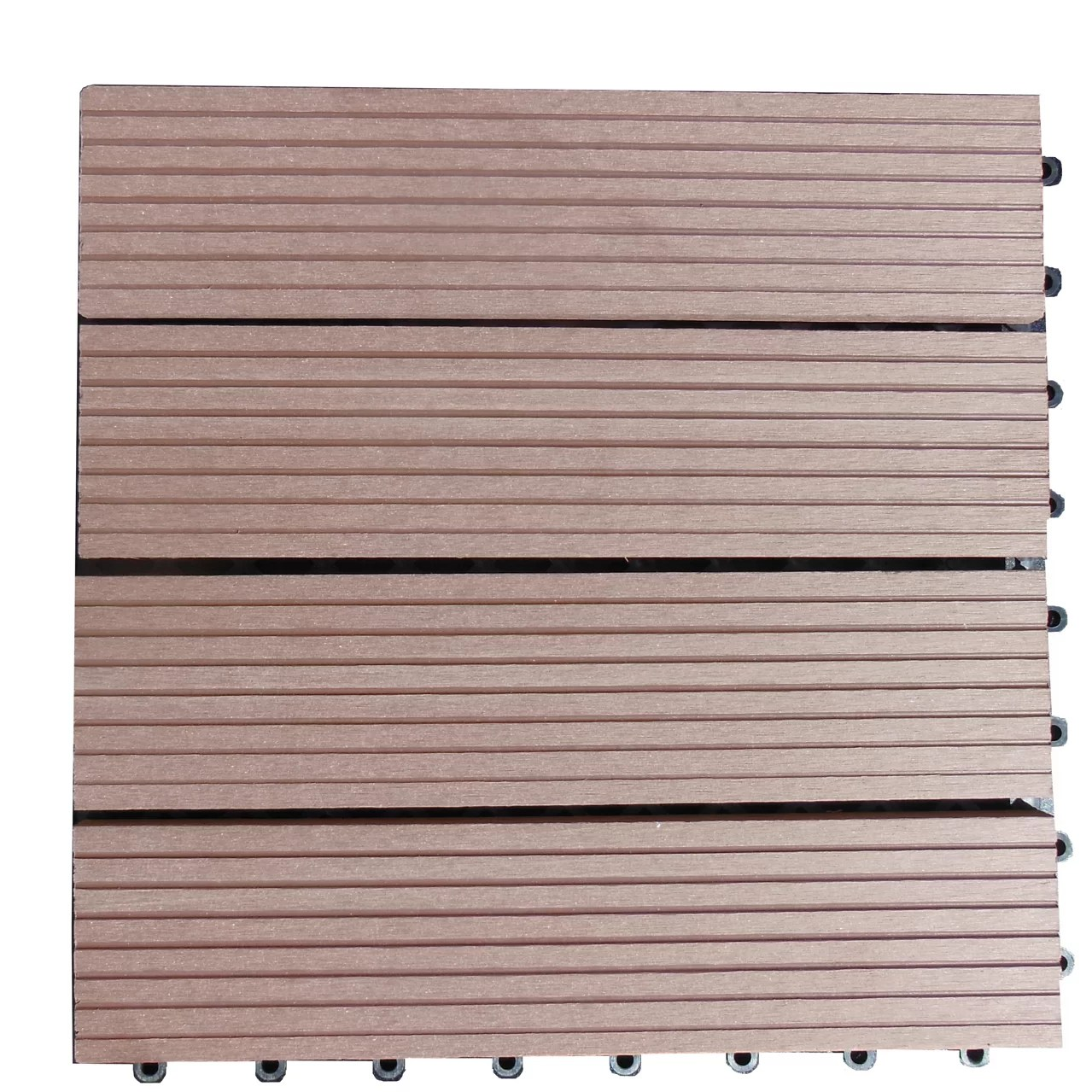 Composite Deck Tiles Centuryoutdoorliving Composite 12 Quot X 12 Quot Interlocking Deck
