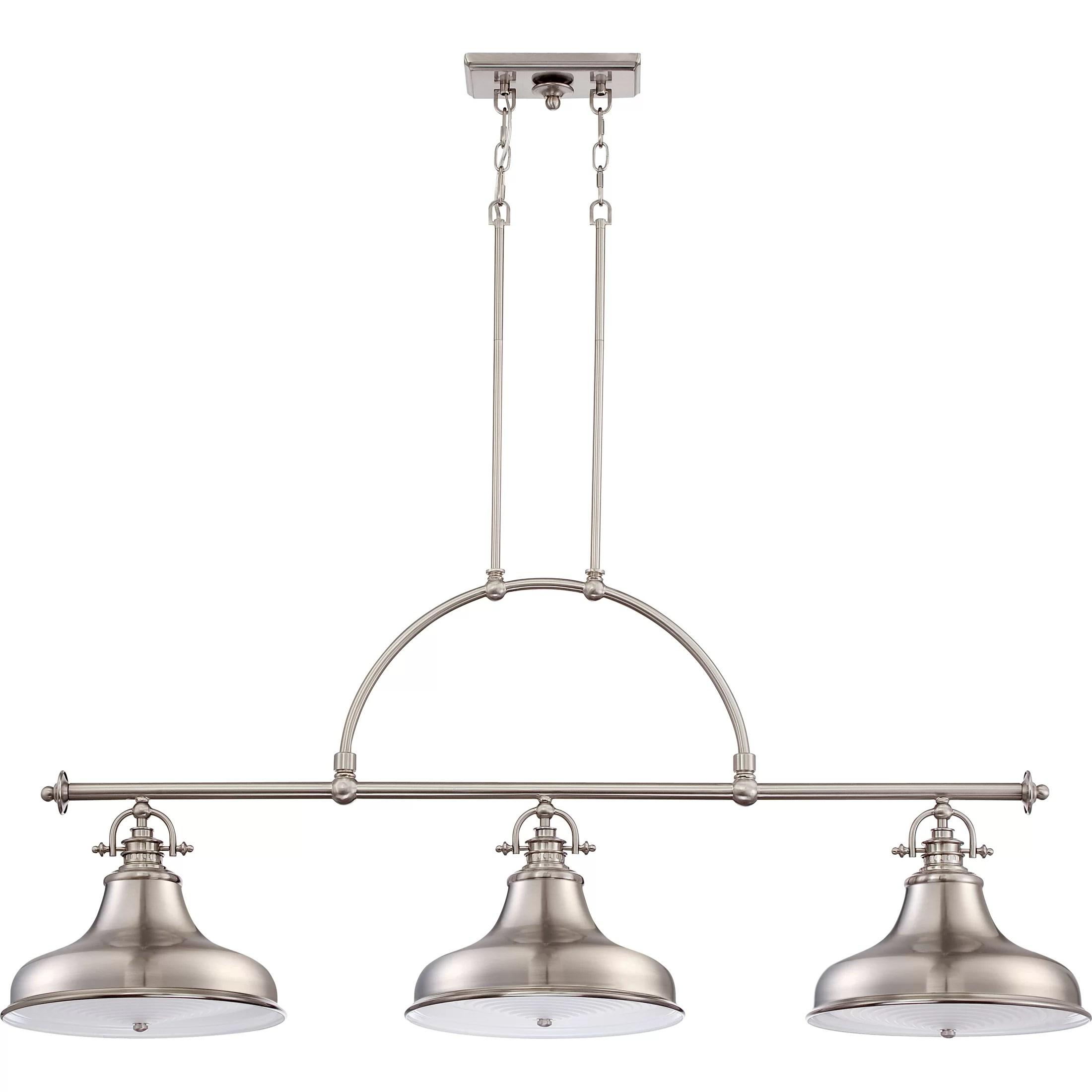 Trent Austin Design Cetona 3 Light Kitchen Island Pendant