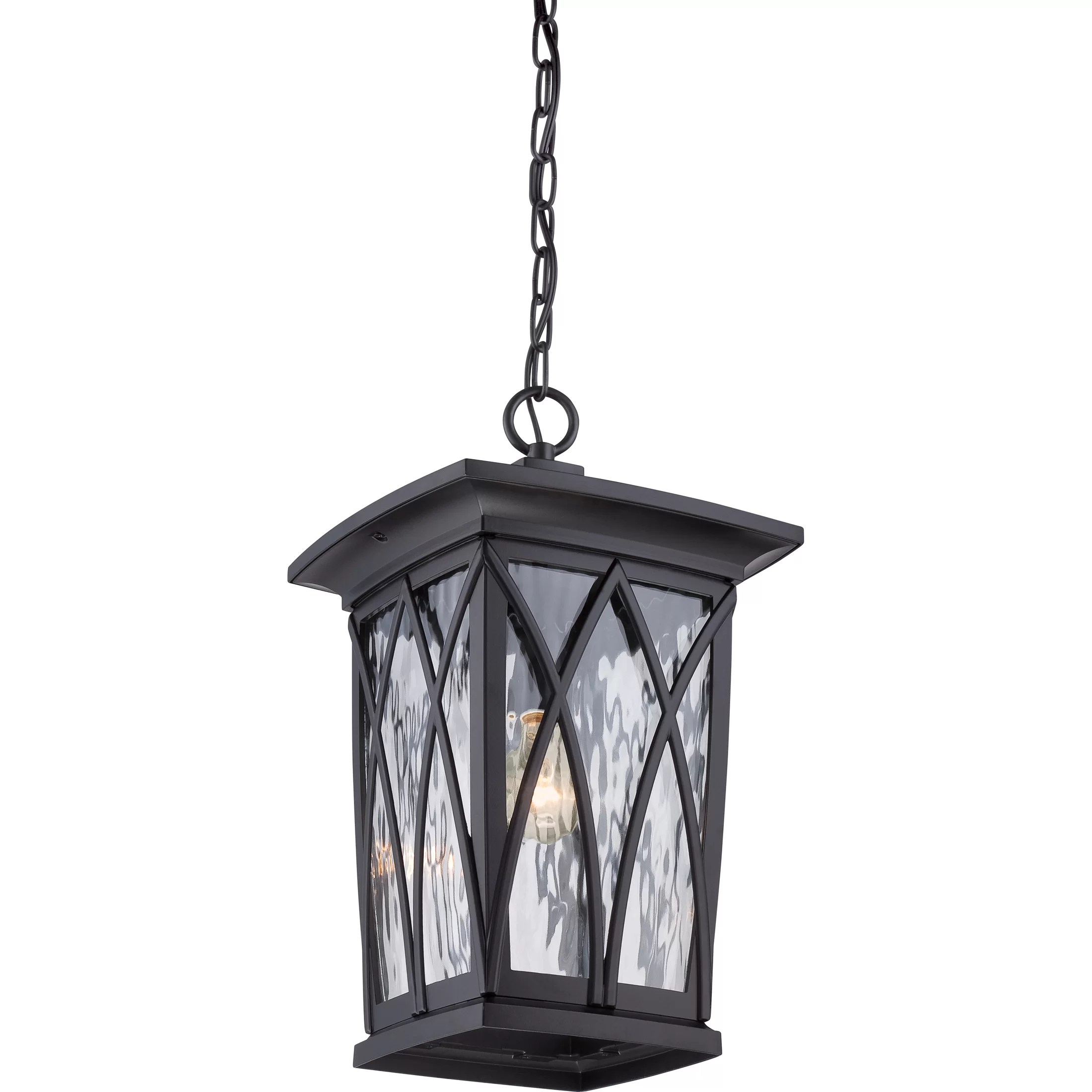 Outdoor Hanging Lanterns Quoizel Grover 1 Light Outdoor Hanging Lantern Wayfair