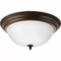 Progress Lighting 3 Light Flush Mount & Reviews | Wayfair