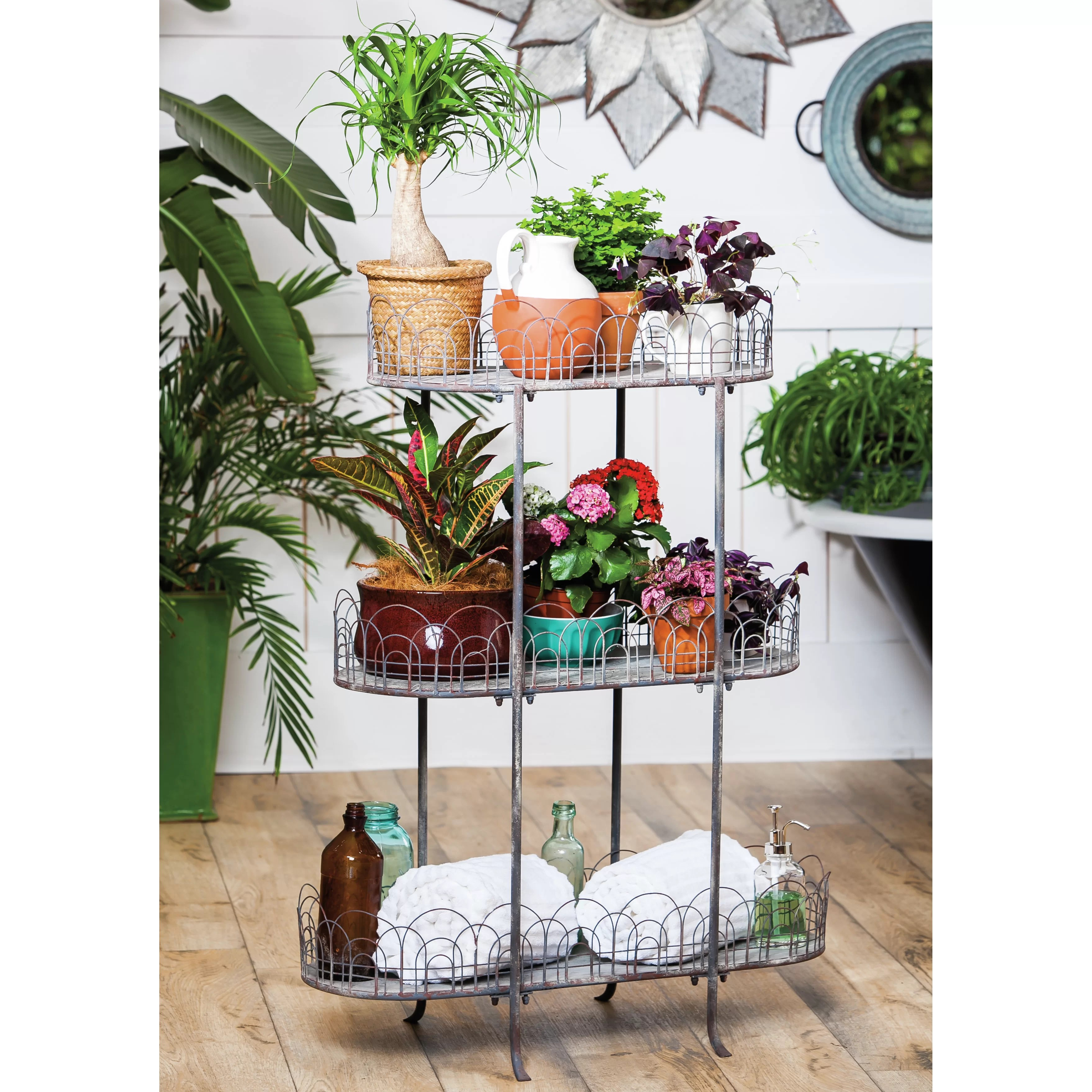 Tiered Plant Holders Evergreen Enterprises Inc Multi Tiered Plant Stand