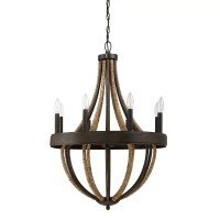 Laurel Foundry Modern Farmhouse Helga 8 Light Candle-Style ...