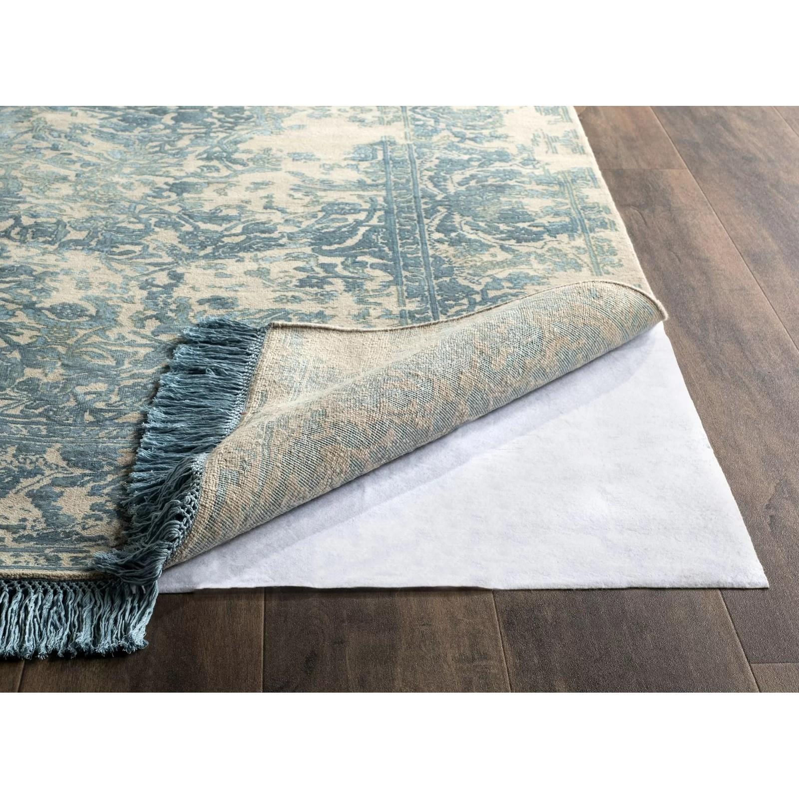 Safavieh Carpet On Carpet Rug Pad Reviews Wayfair