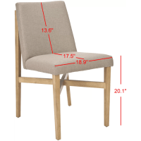 Safavieh Axel Side Chair & Reviews | Wayfair