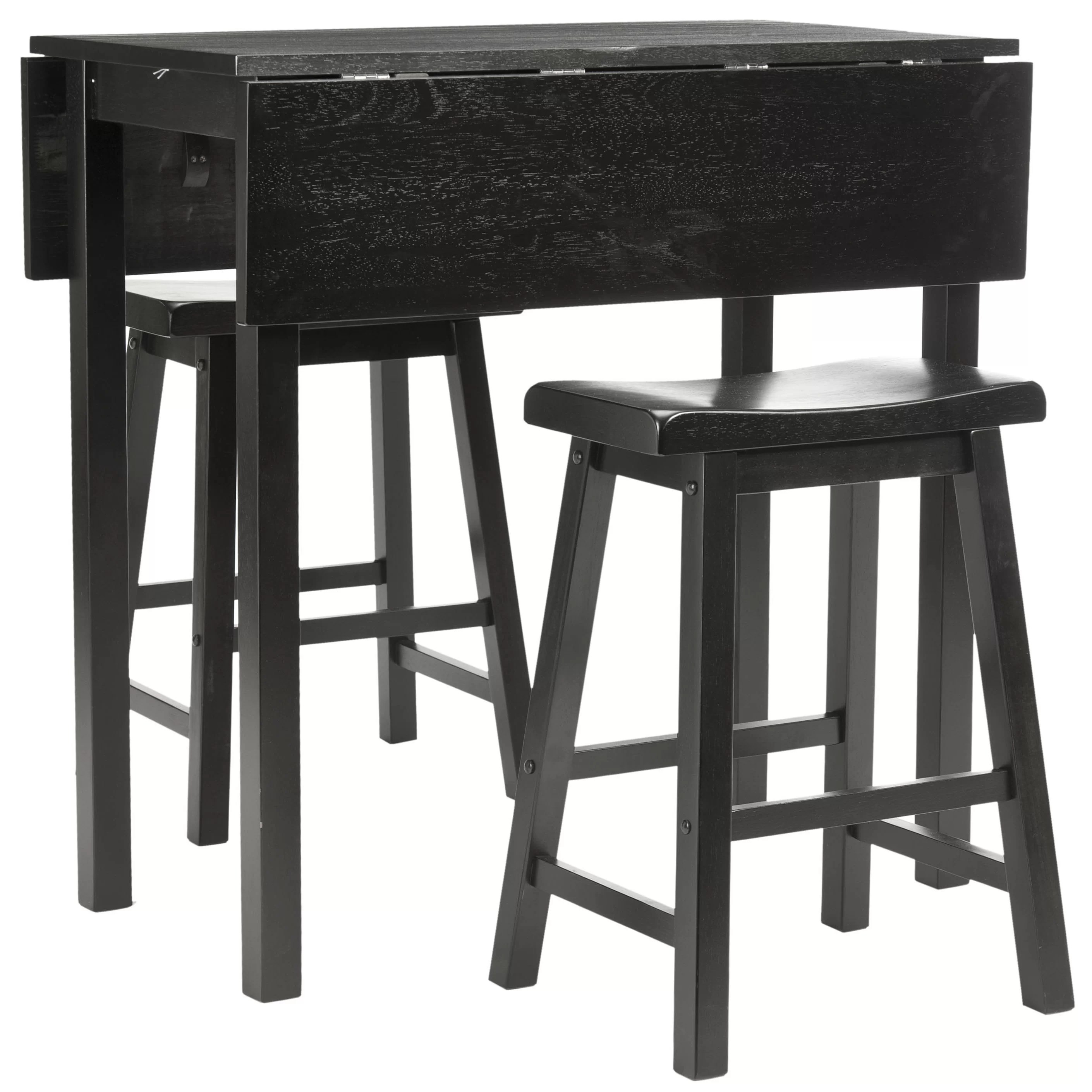 Bar Table Set Safavieh 3 Piece Pub Table Set And Reviews Wayfair