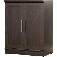 Sauder HomePlus 2 Door Storage Cabinet & Reviews | Wayfair