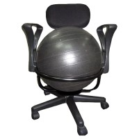 AeroMAT High-Back Exercise Ball Chair & Reviews | Wayfair