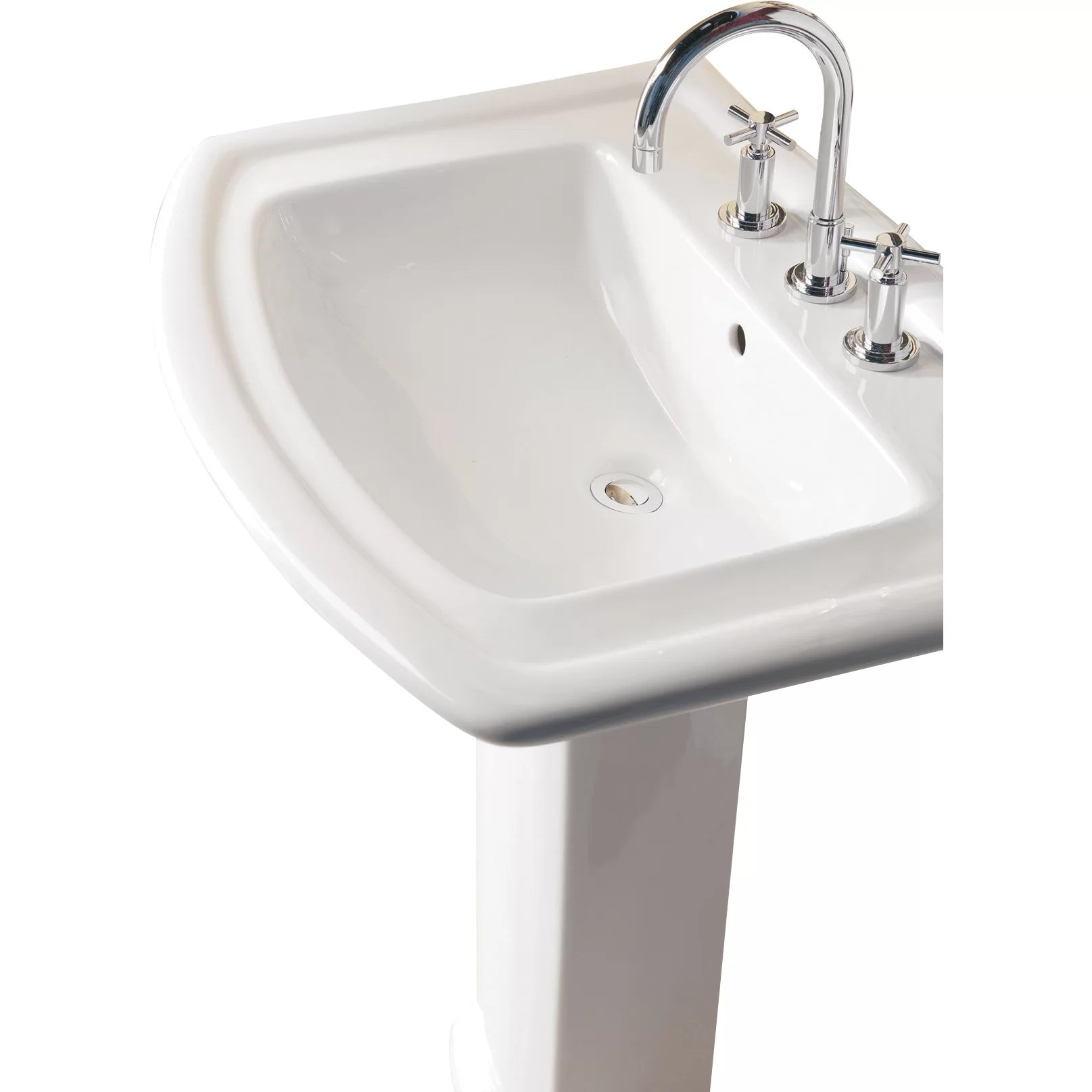 Industrial Pedestal Sink Barclay Washington 550 Pedestal Bathroom Sink And Reviews