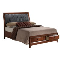 Global Furniture USA Oasis Platform Bed Customizable