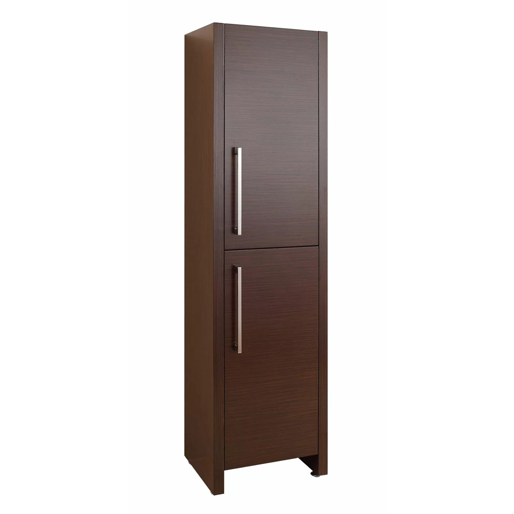 "Virtu Delano 62.2"" x 15.7"" Free Standing Linen Cabinet"