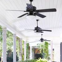 "Quorum 52"" Estate 5 Blade Patio Ceiling Fan & Reviews"