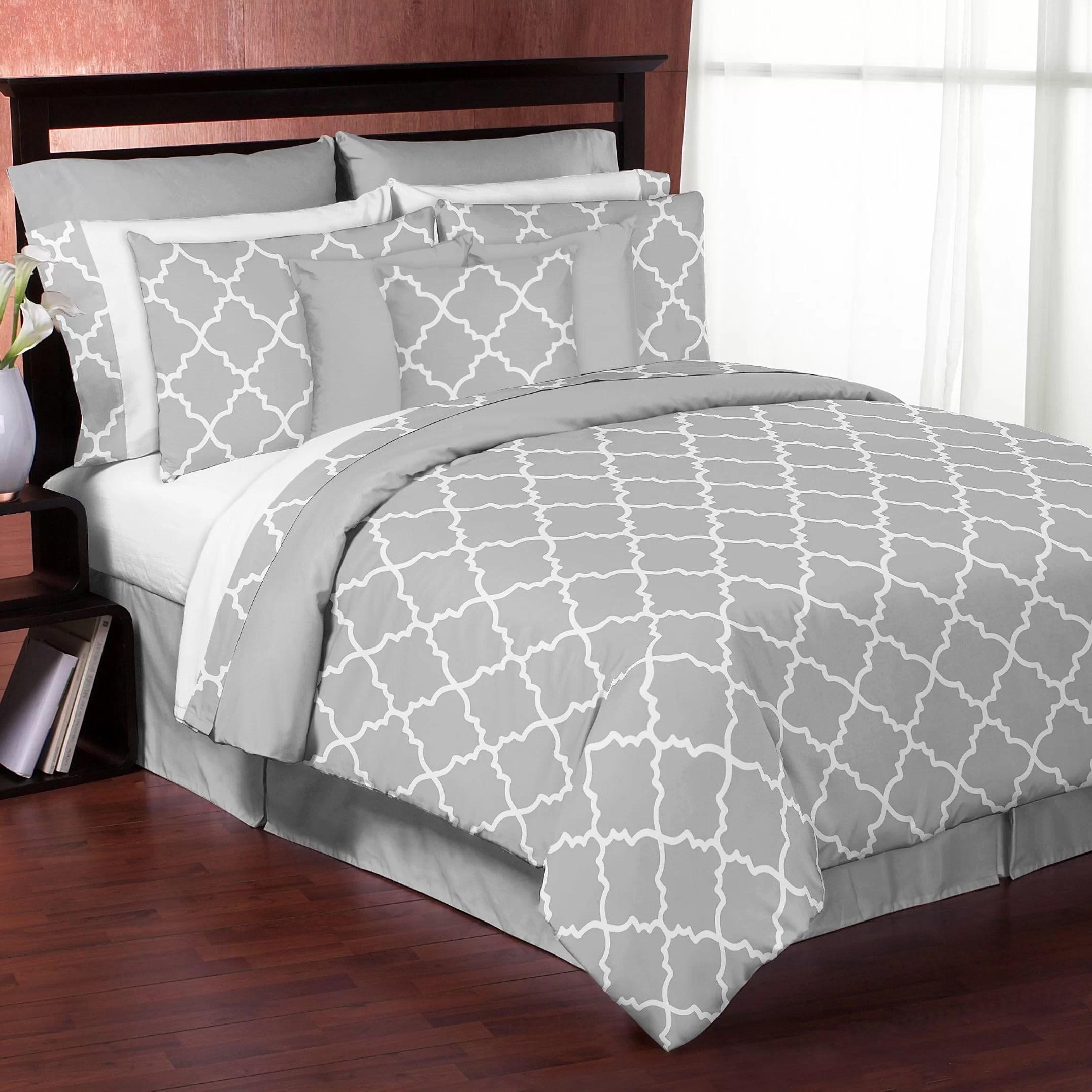 Sweet Jojo Designs Trellis 3 Piece Comforter Set Reviews