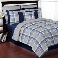 Sweet Jojo Designs Plaid Comforter Set & Reviews   Wayfair