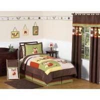 Sweet Jojo Designs Forest Friends 4 Piece Twin Comforter ...