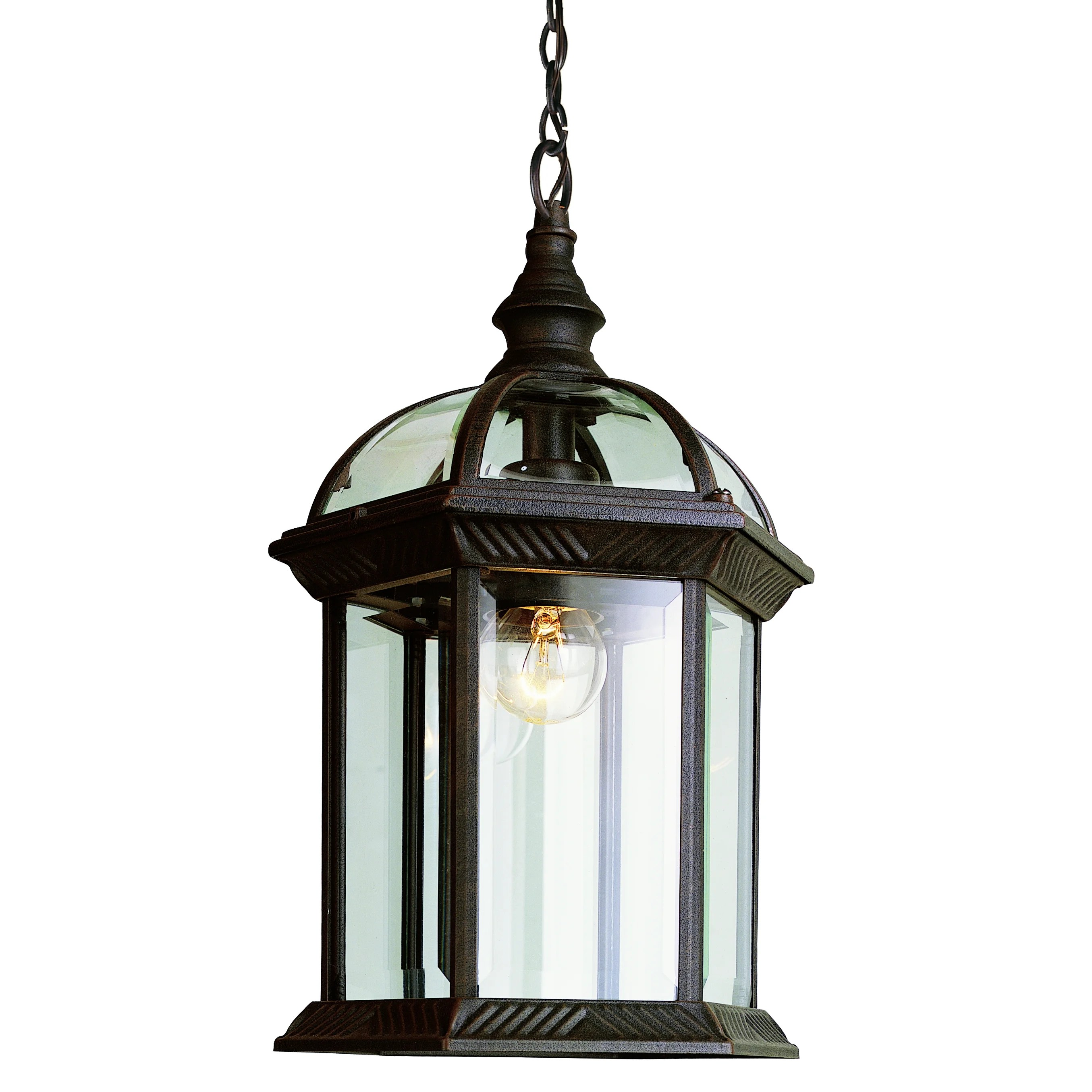 Outdoor Hanging Lanterns Transglobe Lighting 1 Light Outdoor Hanging Lantern
